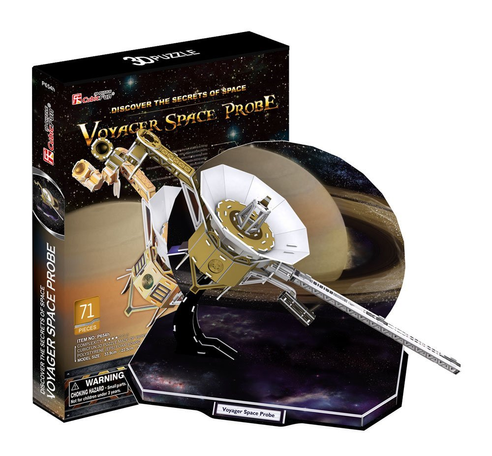 Объемный 3-D пазл ВояджерПазлы объёмные 3D<br>Объемный 3-D пазл Вояджер<br>