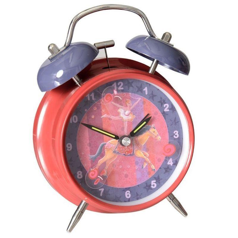 Детские часы - будильник из серии Цирк