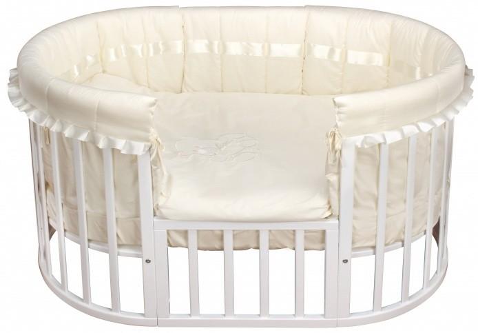 Комплект в кроватку - Due Orsi, 9 предметов, beigeДетское постельное белье<br>Комплект в кроватку - Due Orsi, 9 предметов, beige<br>