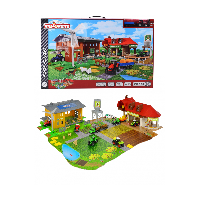 Набор Creatix - Большая фермаИгровые наборы Зоопарк, Ферма<br>Набор Creatix - Большая ферма<br>