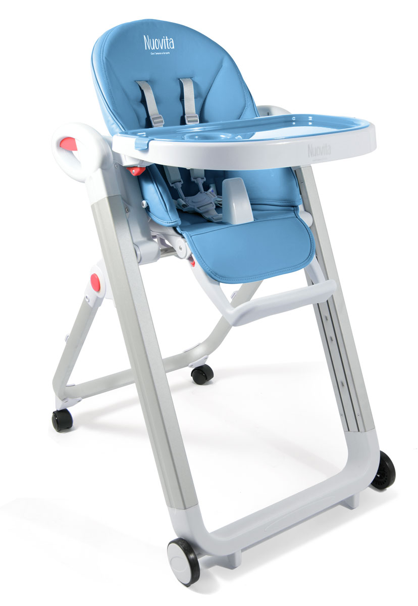 Стульчик для кормления Futuro Bianco, Blu/ГолубойСтульчики для кормления<br>Стульчик для кормления Futuro Bianco, Blu/Голубой<br>