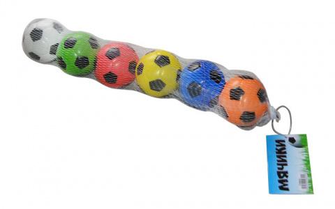 Набор мячей, футбольные, 6 штук
