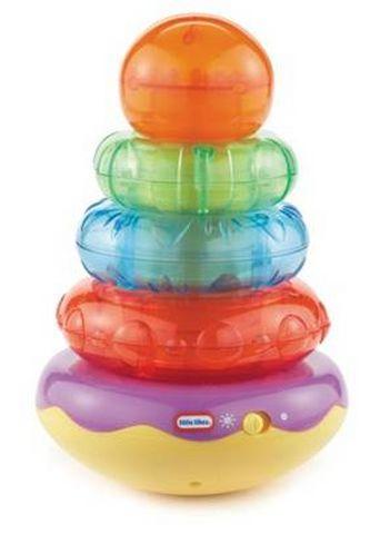 Развивающая игрушка со звуковыми эффектами Пирамидка - Сортеры, пирамидки, артикул: 97311