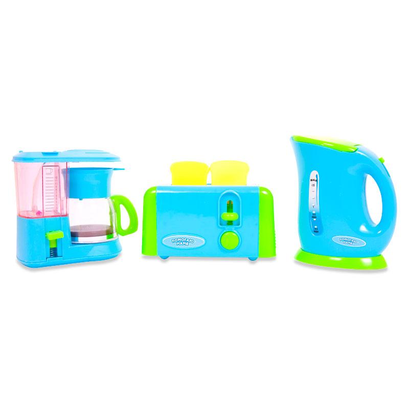 Помогаю Маме. Кухонная техника, 5 предметовАксессуары и техника для детской кухни<br>Помогаю Маме. Кухонная техника, 5 предметов<br>
