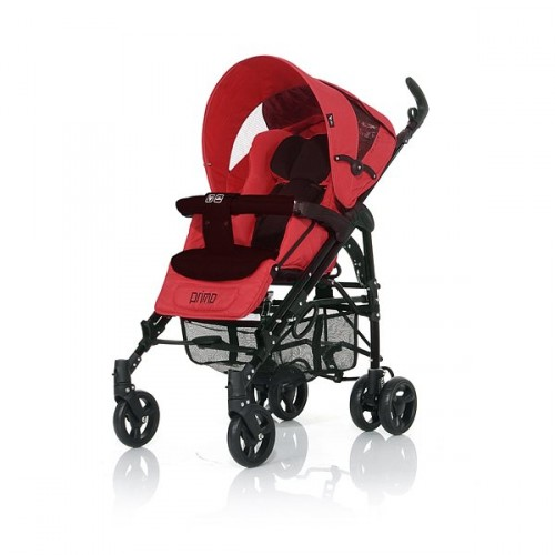 Коляска трость Primo, Cherry/BlackДетские коляски Capella Jetem, Baby Care<br>Коляска трость Primo, Cherry/Black<br>
