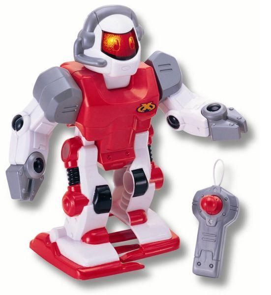 Робот на радиоуправлении, красный, свет и звукРоботы на радиоуправлении<br>Робот на радиоуправлении, красный, свет и звук<br>