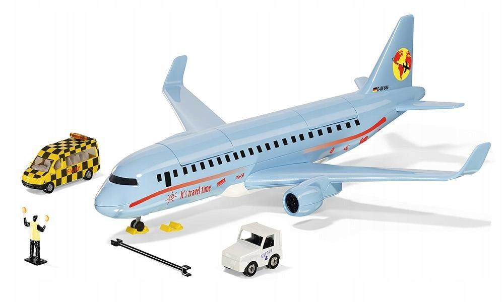 Siku Пассажирский самолет с аксессуарами, 5402 фото