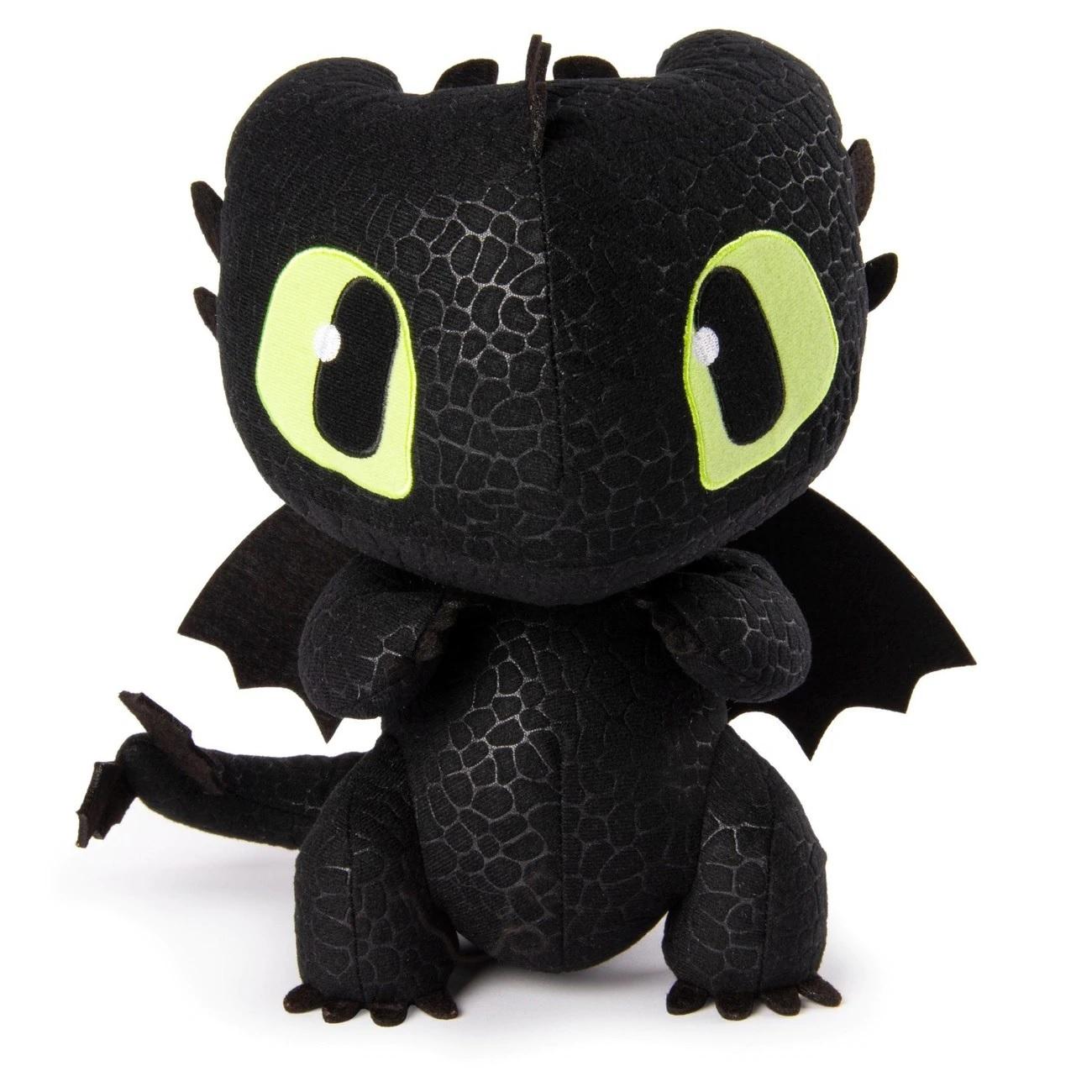 Купить Мягкая игрушка Как приручить дракона-3 - Беззубик, звук, 25 см, Spin Master