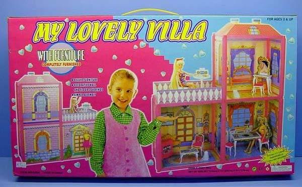 Дом для кукол с аксессуарами - My lovely villa