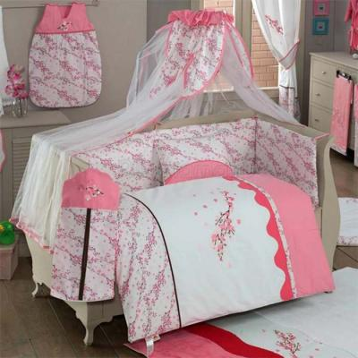 Комплект постельного белья из 3 предметов серия Bello FioreДетское постельное белье<br>Комплект постельного белья из 3 предметов серия Bello Fiore<br>