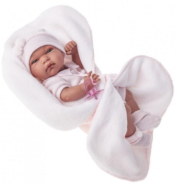Кукла Антония в розовом, 33 см.Куклы Антонио Хуан (Antonio Juan Munecas)<br>Кукла Антония в розовом, 33 см.<br>