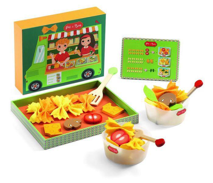 Сюжетно-ролевая игра - Паста Пэт и БэнаАксессуары и техника для детской кухни<br>Сюжетно-ролевая игра - Паста Пэт и Бэна<br>