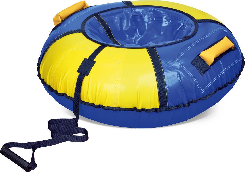 Тюбинг - ТБ1К950 сине-желтыйВатрушки и ледянки<br>Тюбинг - ТБ1К950 сине-желтый<br>