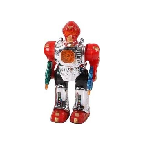Робот со световыми и звуковыми эффектами, русифицированный - Роботы, Воины, артикул: 128338