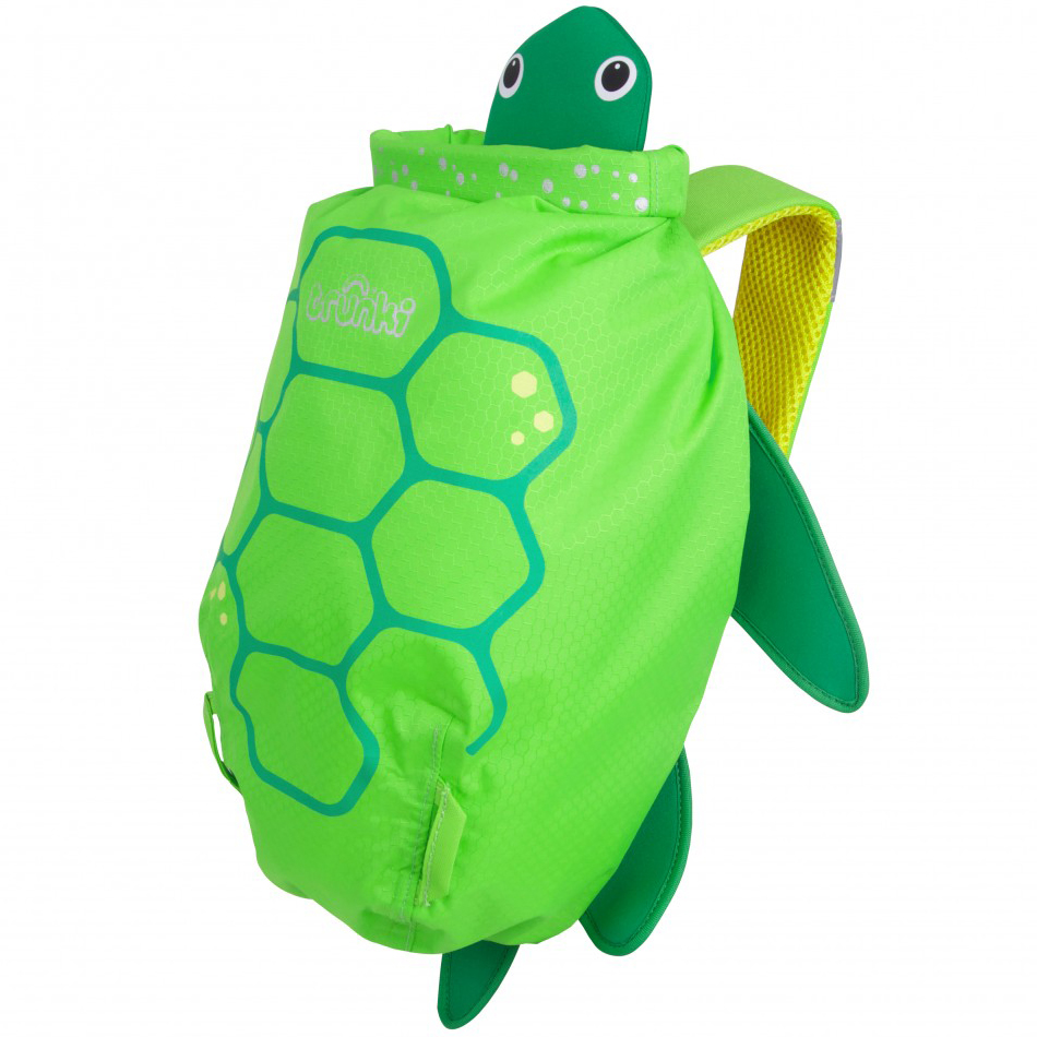 Купить Рюкзак для бассейна и пляжа - Paddlepak Middle. Черепаха, Trunki