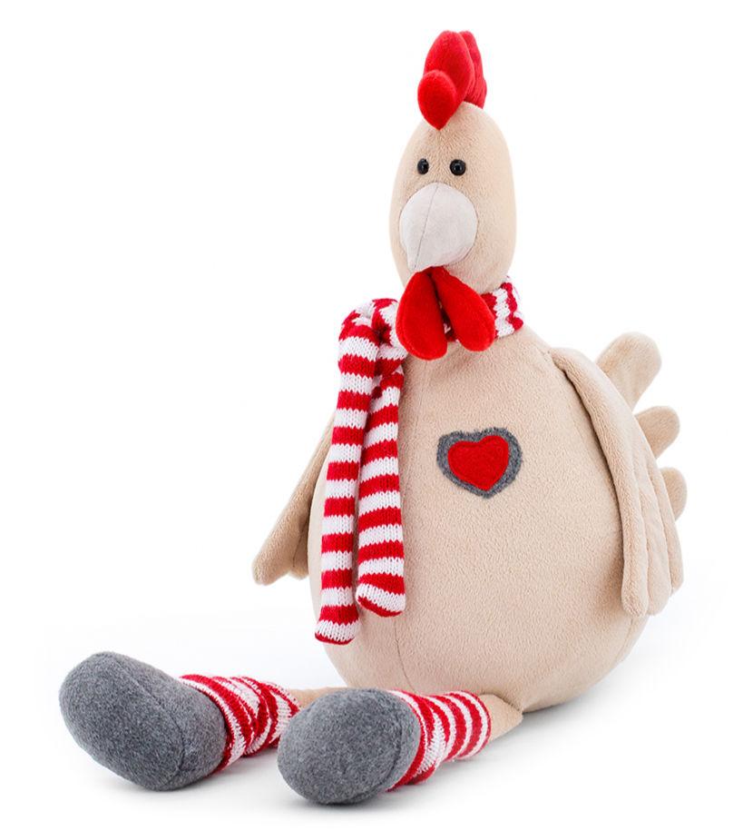 Мягкая игрушка - Петушок Гриша, 30 смЖивотные<br>Мягкая игрушка - Петушок Гриша, 30 см<br>