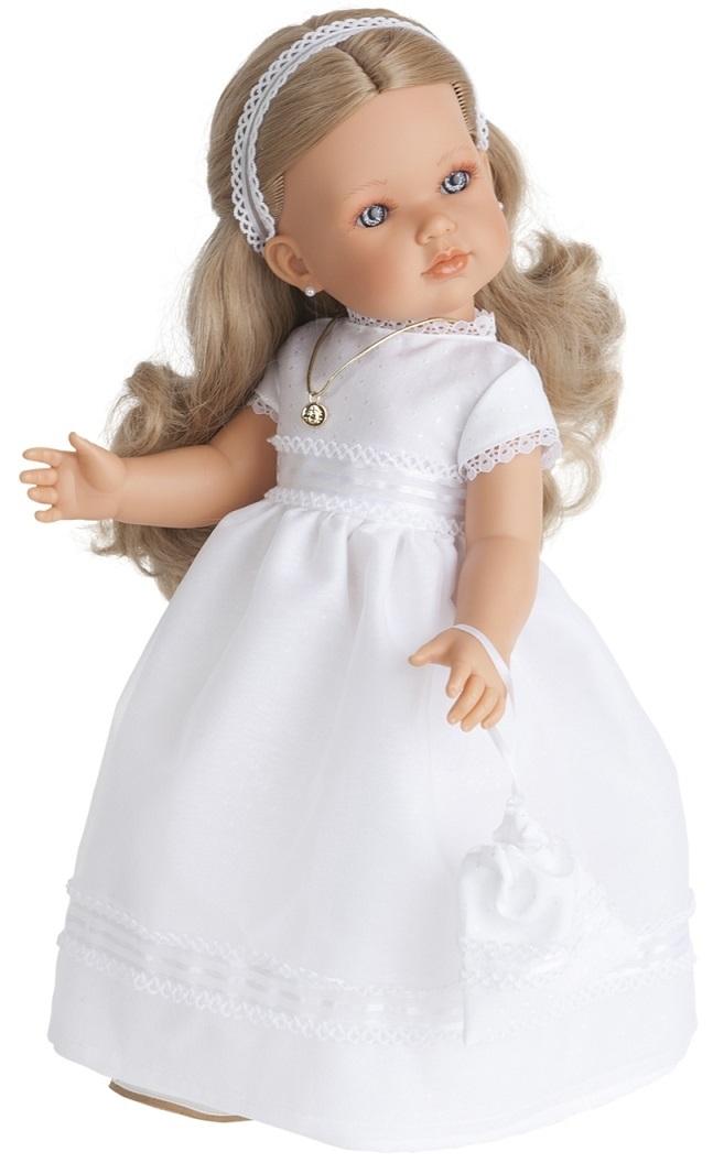 Кукла Белла Первое причастие, блондинка, 45 см.Куклы Антонио Хуан (Antonio Juan Munecas)<br>Кукла Белла Первое причастие, блондинка, 45 см.<br>