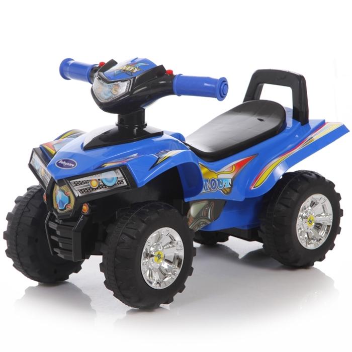 Детская синяя каталка Super ATV со звуковыми эффектамиМашинки-каталки для детей<br>Детская синяя каталка Super ATV со звуковыми эффектами<br>