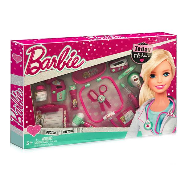 Игровой набор юного доктора из серии Barbie, большойНаборы доктора детские<br>Игровой набор юного доктора из серии Barbie, большой<br>