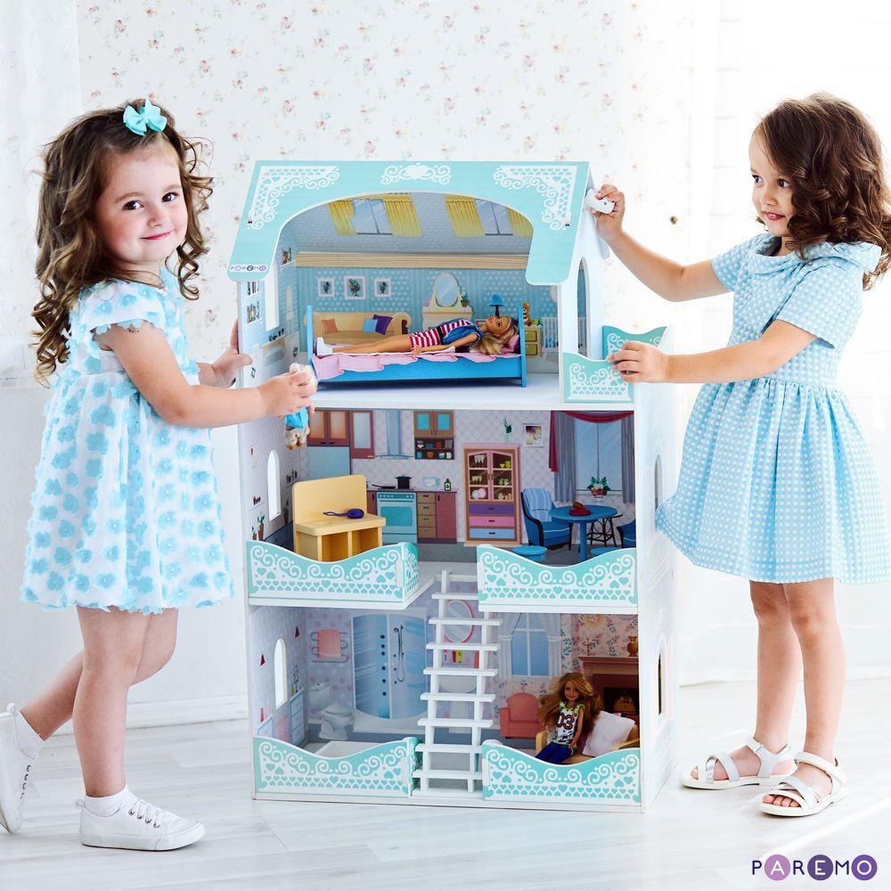 Купить Кукольный домик - Вивьен Бэль, с мебелью, Paremo