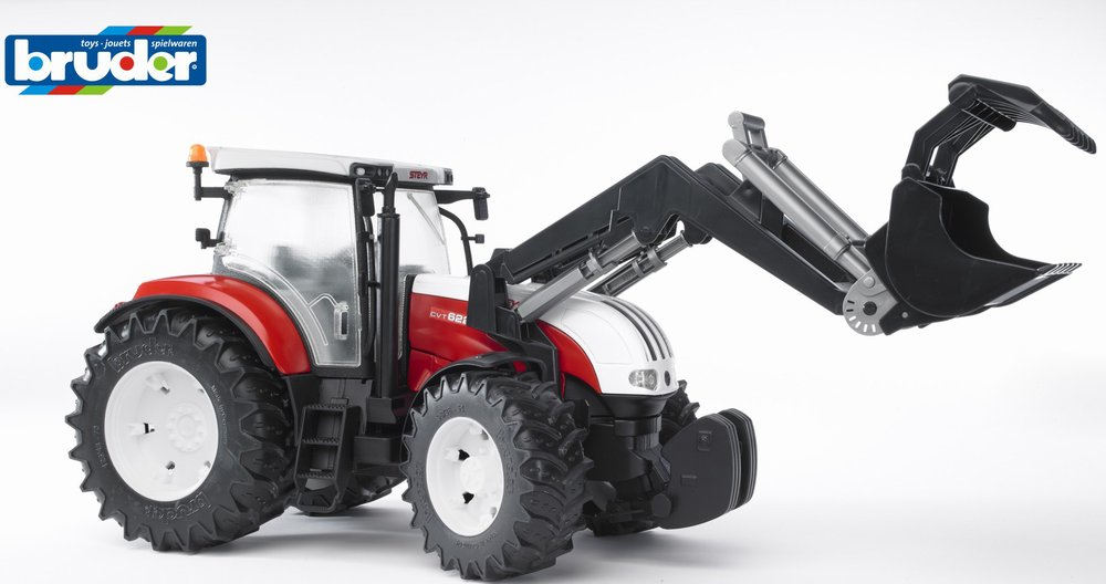 Трактор Steyr CVT 6230 с погрузчикомТракторы и комбайны<br>Трактор Steyr CVT 6230 с погрузчиком<br>