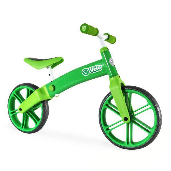 Купить Беговел Velo Balance, цвет – зеленый, YVolution