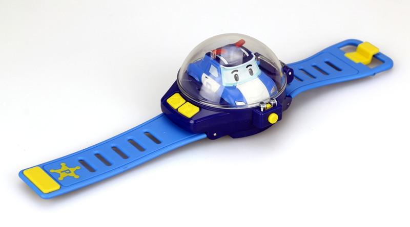 Часы Робокар Поли с мини машинкой на ДУ