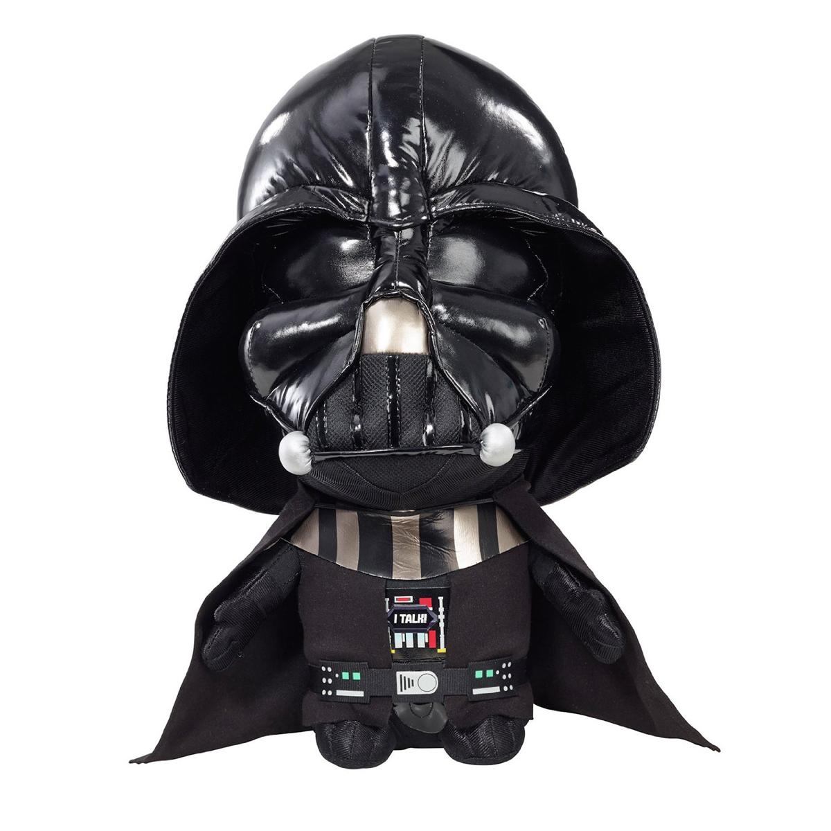 Озвученная мягкая игрушка серии StarWars - Дарт ВейдерИгрушки Star Wars (Звездные воины)<br>Озвученная мягкая игрушка серии StarWars - Дарт Вейдер<br>