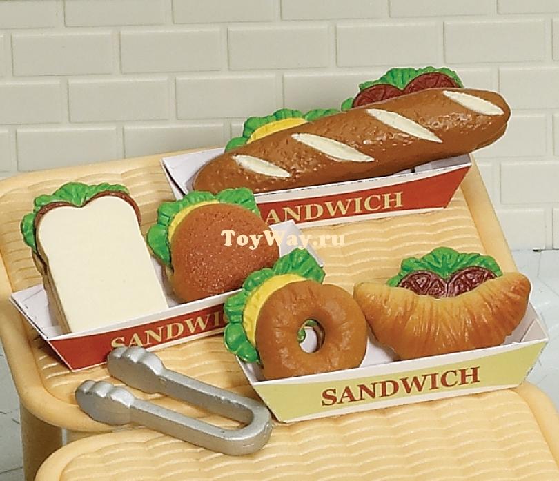 Набор Приготовление сандвичейПокупки и Продукты<br>Набор Приготовление сандвичей<br>