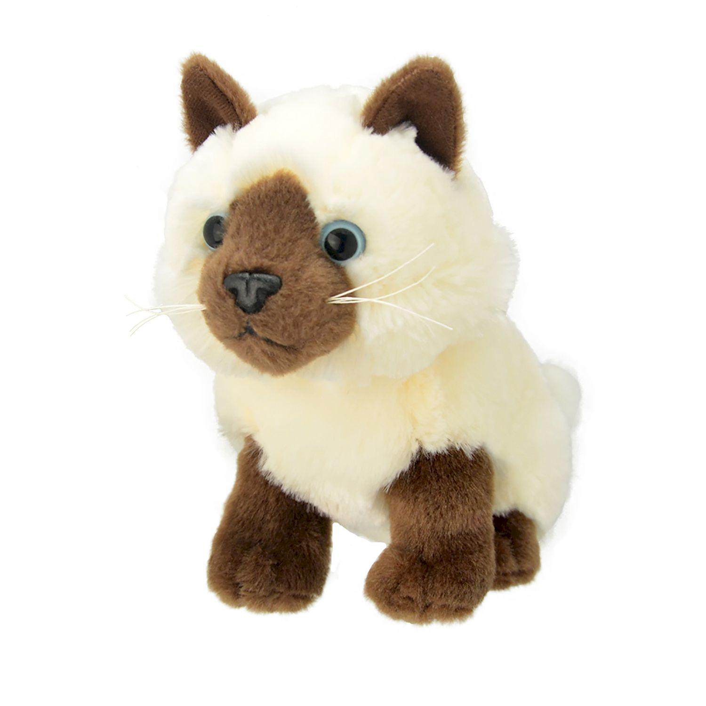 Мягкая игрушка - Сиамская кошка, 20 см