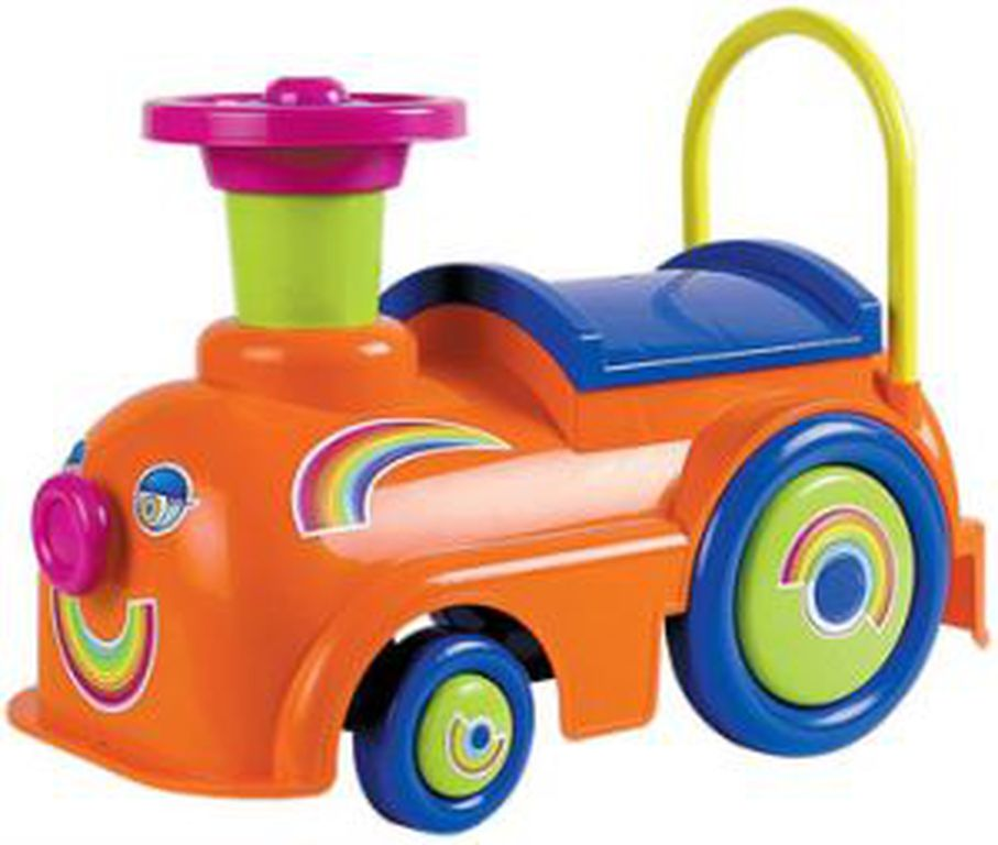 Машинка-толокар - Экспресс РадугаМашинки-каталки для детей<br>Машинка-толокар - Экспресс Радуга<br>