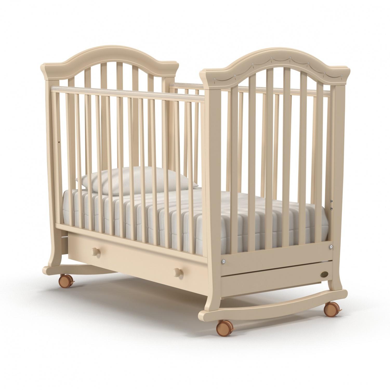 Купить Детская кровать Nuovita Perla dondolo, avorio/слоновая кость