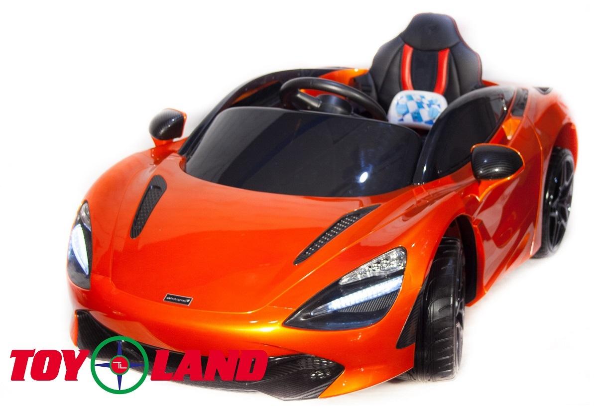 ToyLand Электромобиль Mclaren DKM720S оранжевого цвета
