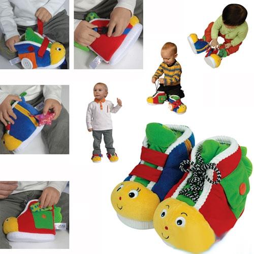 Ботинки обучающие, 2 шт.Развивающие игрушки Tiny Love<br>Ботинки обучающие, 2 шт.<br>