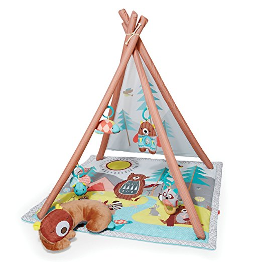 Гимнастический коврик - ВигвамДетские развивающие коврики для новорожденных<br>Гимнастический коврик - Вигвам<br>