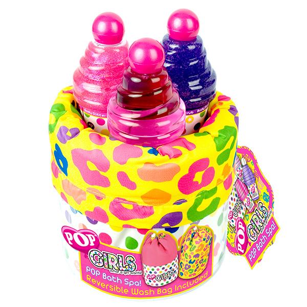 Набор детской декоративной косметики для душа из серии PopЮная модница, салон красоты<br>Набор детской декоративной косметики для душа из серии Pop<br>
