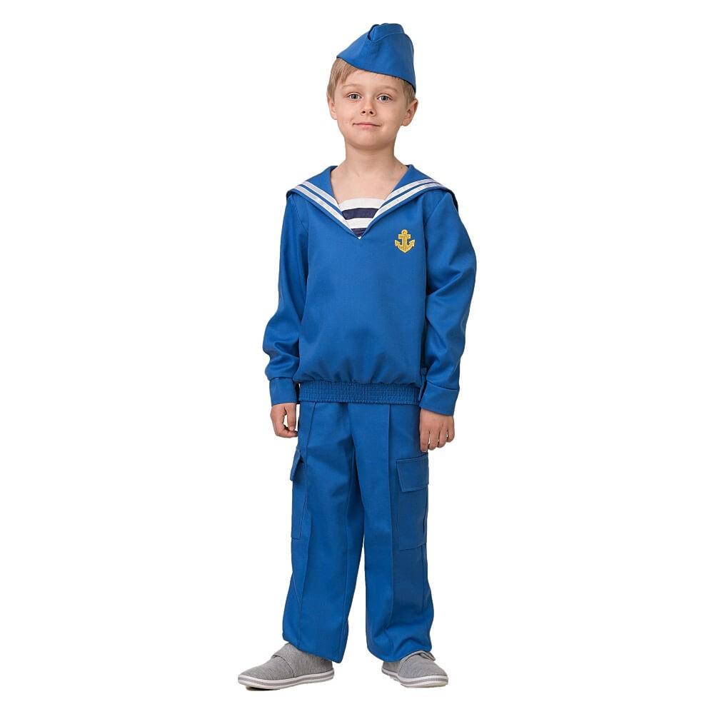 Купить Карнавальный костюм из серии Профессии – Матрос, размер 134-68, Батик