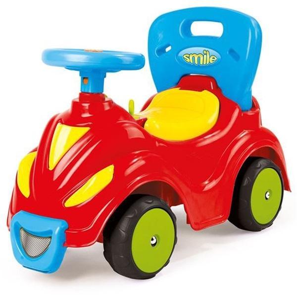 Купить Автомобиль-каталка 2 в 1, красный, Dolu
