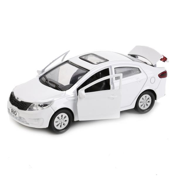 Металлическая инерционная машина - Kia Rio, 12 смKIA<br>Металлическая инерционная машина - Kia Rio, 12 см<br>