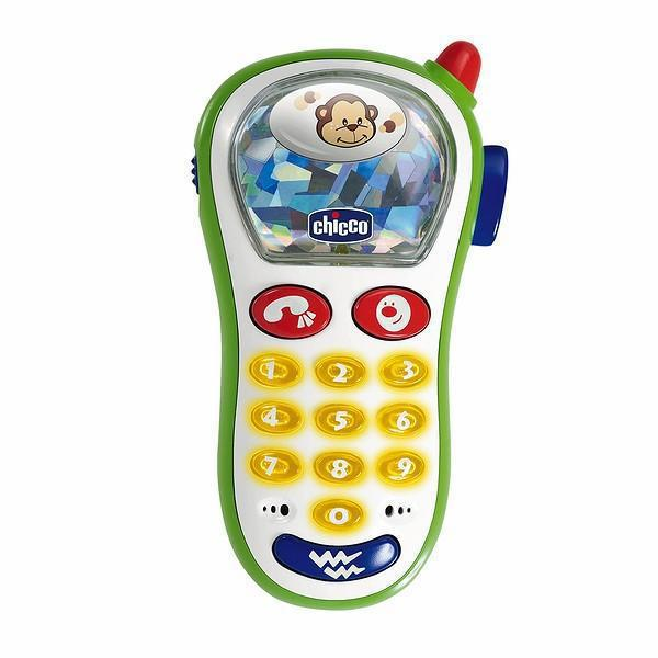Игрушка «Музыкальный телефон»Развивающие Игрушки Chicco<br>Игрушка «Музыкальный телефон»<br>