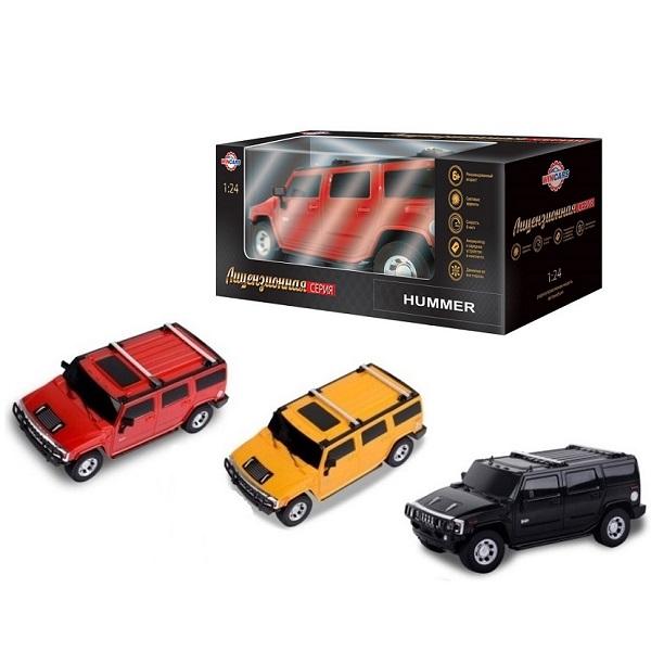 картинка Радиоуправляемый лицензированный автомобиль Hummer, масштаб 1:24, ЗУ в комплекте от магазина Bebikam.ru