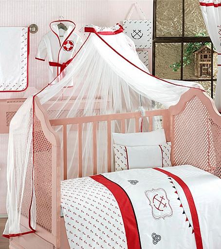 Балдахин серии Red Ocean, 150 х 450 смДетское постельное белье<br>Балдахин серии Red Ocean, 150 х 450 см<br>