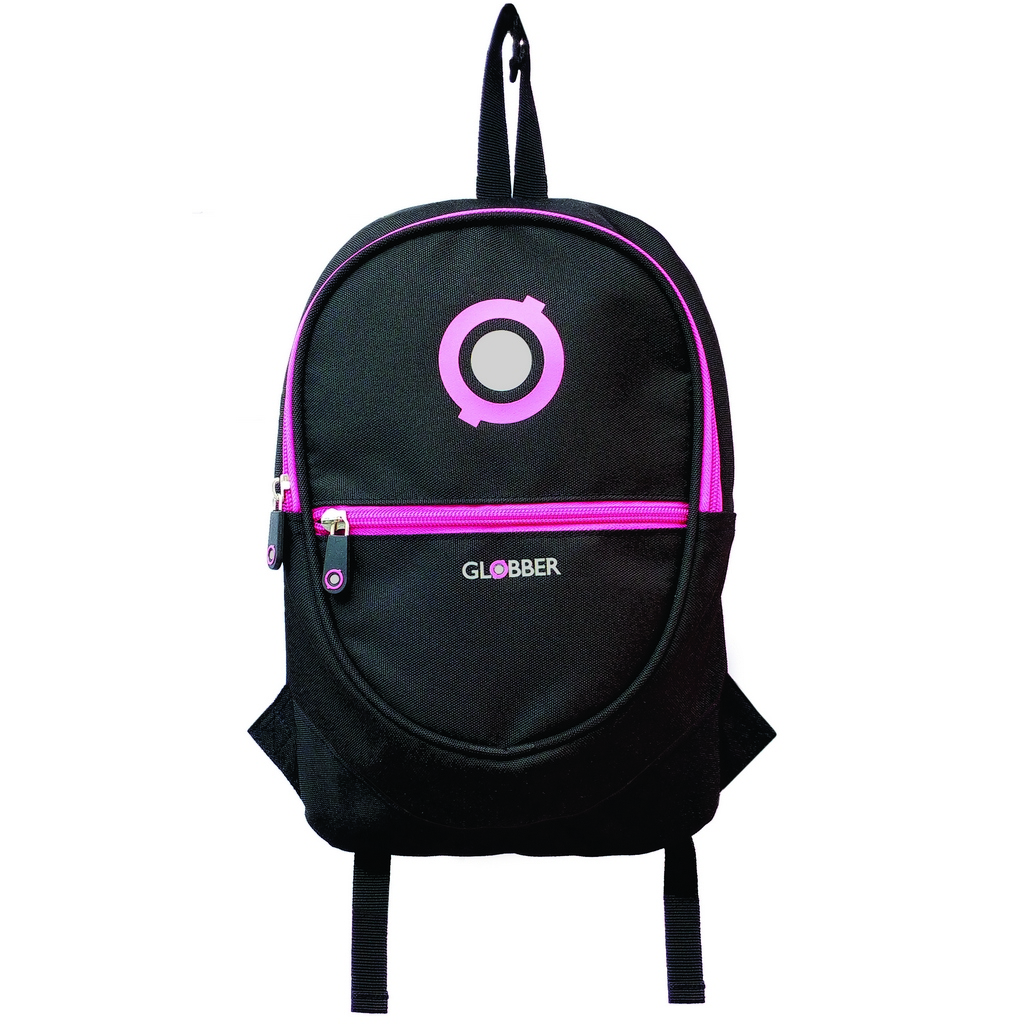 524-132 Рюкзак Globber для самокатов Junior, black/neon pink