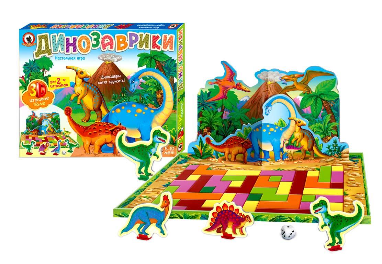 Игра-театр - ДинозаврикиЖивотные и окружающий мир<br>Игра-театр - Динозаврики<br>