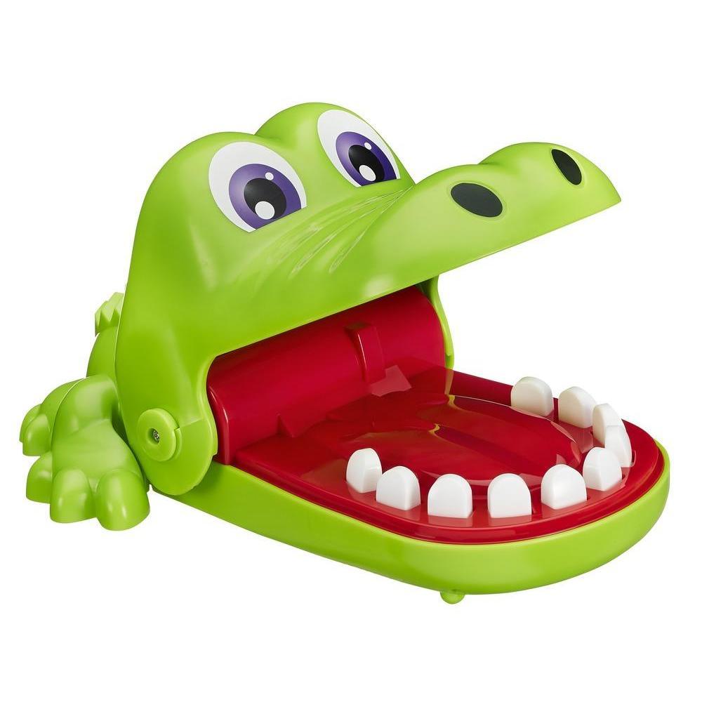 Развивающая игрушка - Крокодильчик Дантист, серия GAMESДля самых маленьких<br>Развивающая игрушка - Крокодильчик Дантист, серия GAMES<br>