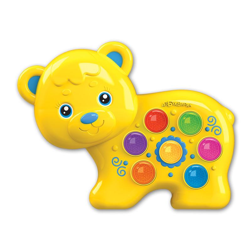 Купить Игрушка музыкальная из серии Веселушки - Мишка, Азбукварик