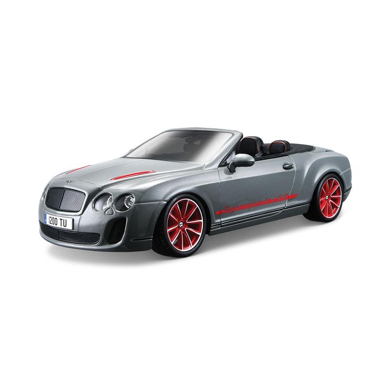 Машина для сборки Bburago Bentley Continental Supersports Convrtible ISR, металлическая, 1:18Bentley<br>Машина для сборки Bburago Bentley Continental Supersports Convrtible ISR, металлическая, 1:18<br>