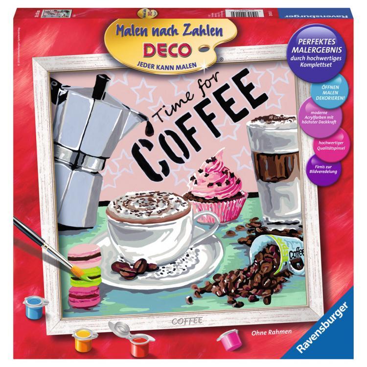 Раскрашивание по номерам «Кофе»Раскраски по номерам Schipper<br>Раскрашивание по номерам «Кофе»<br>