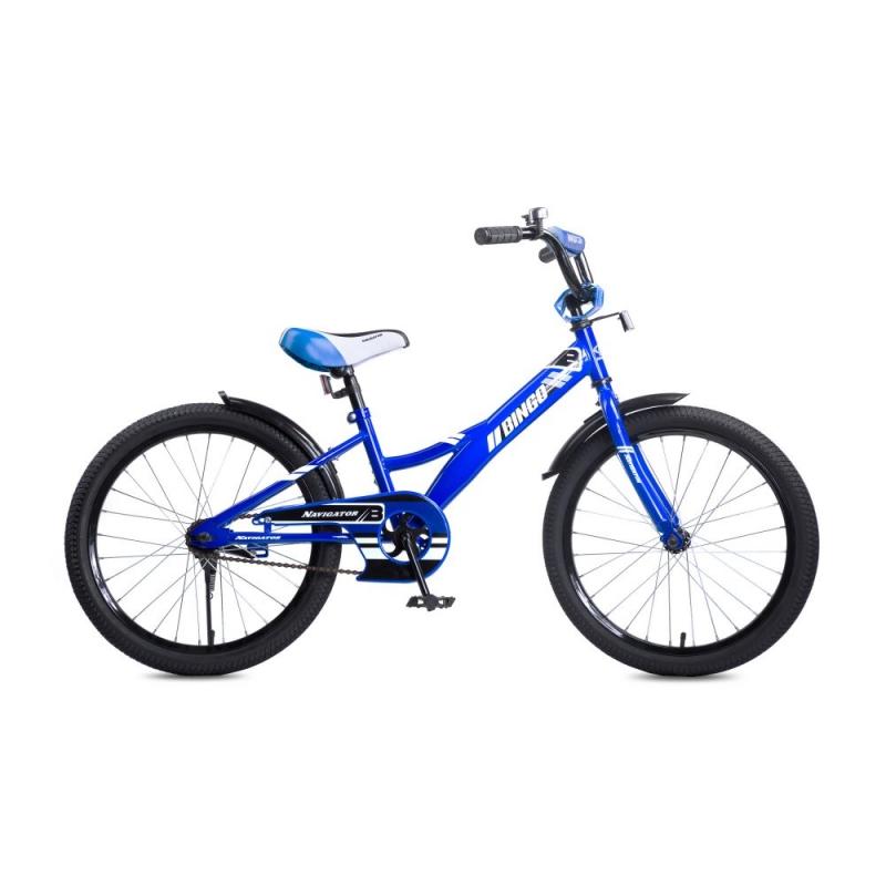 Купить Детский велосипед Bingo, колеса 20 , стальная рама и обода, ножной тормоз, Navigator