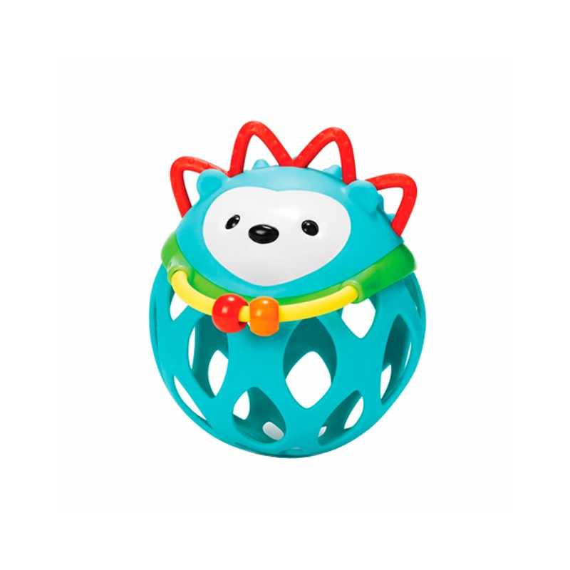 Игрушка-погремушка Шар ЕжикДетские погремушки и подвесные игрушки на кроватку<br>Игрушка-погремушка Шар Ежик<br>